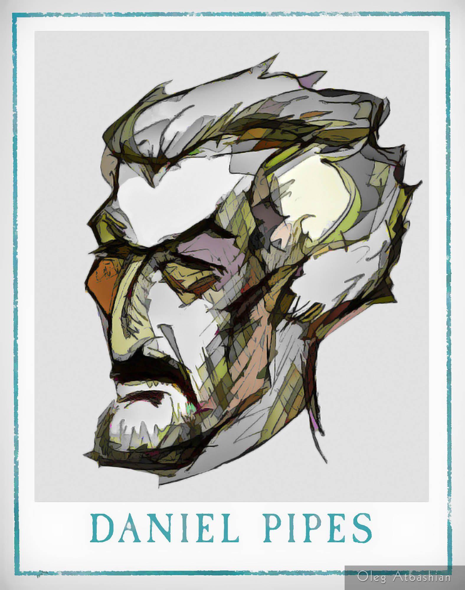 Cartoon: Daniel Pipes