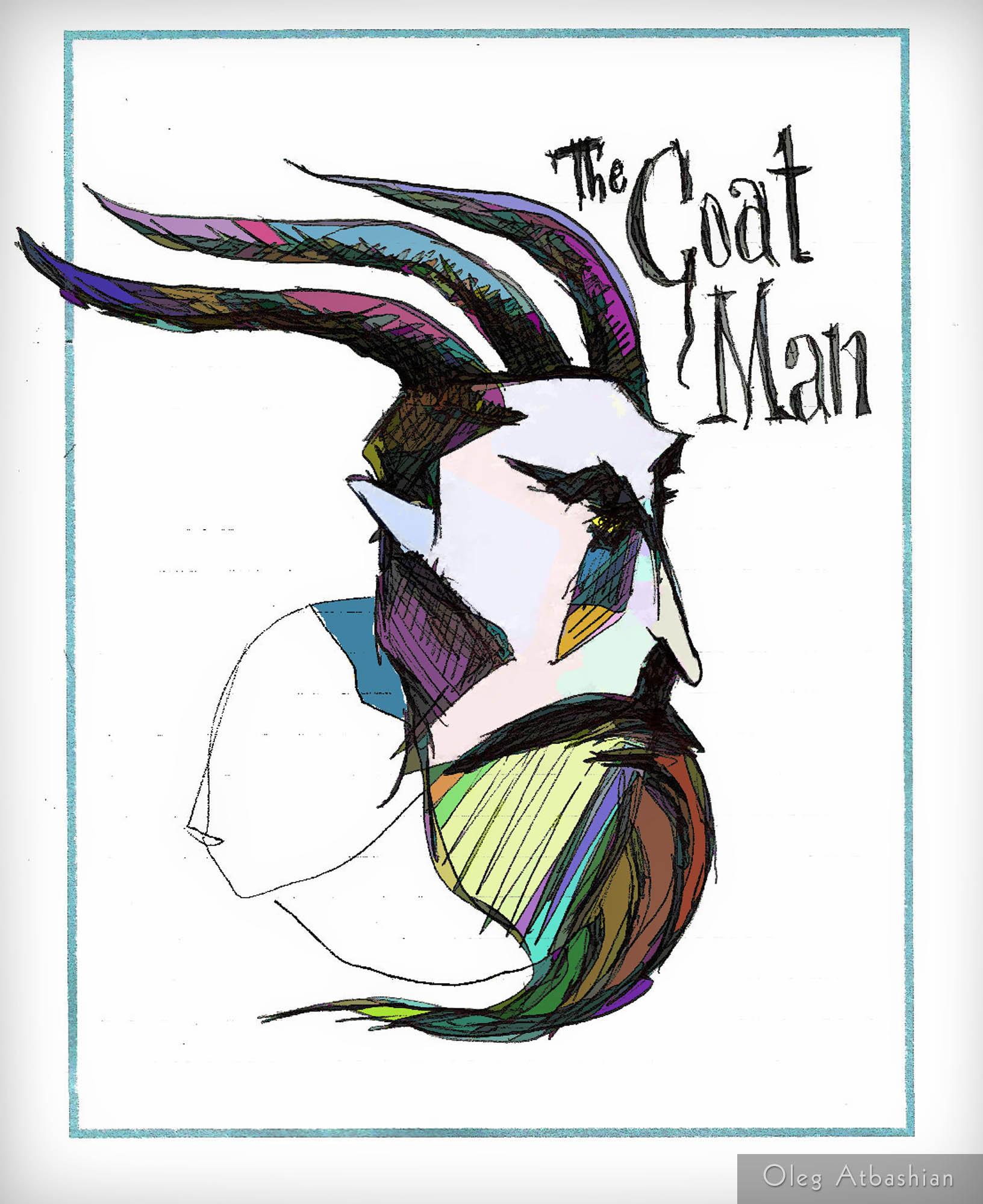 Cartoon: The Goat Man