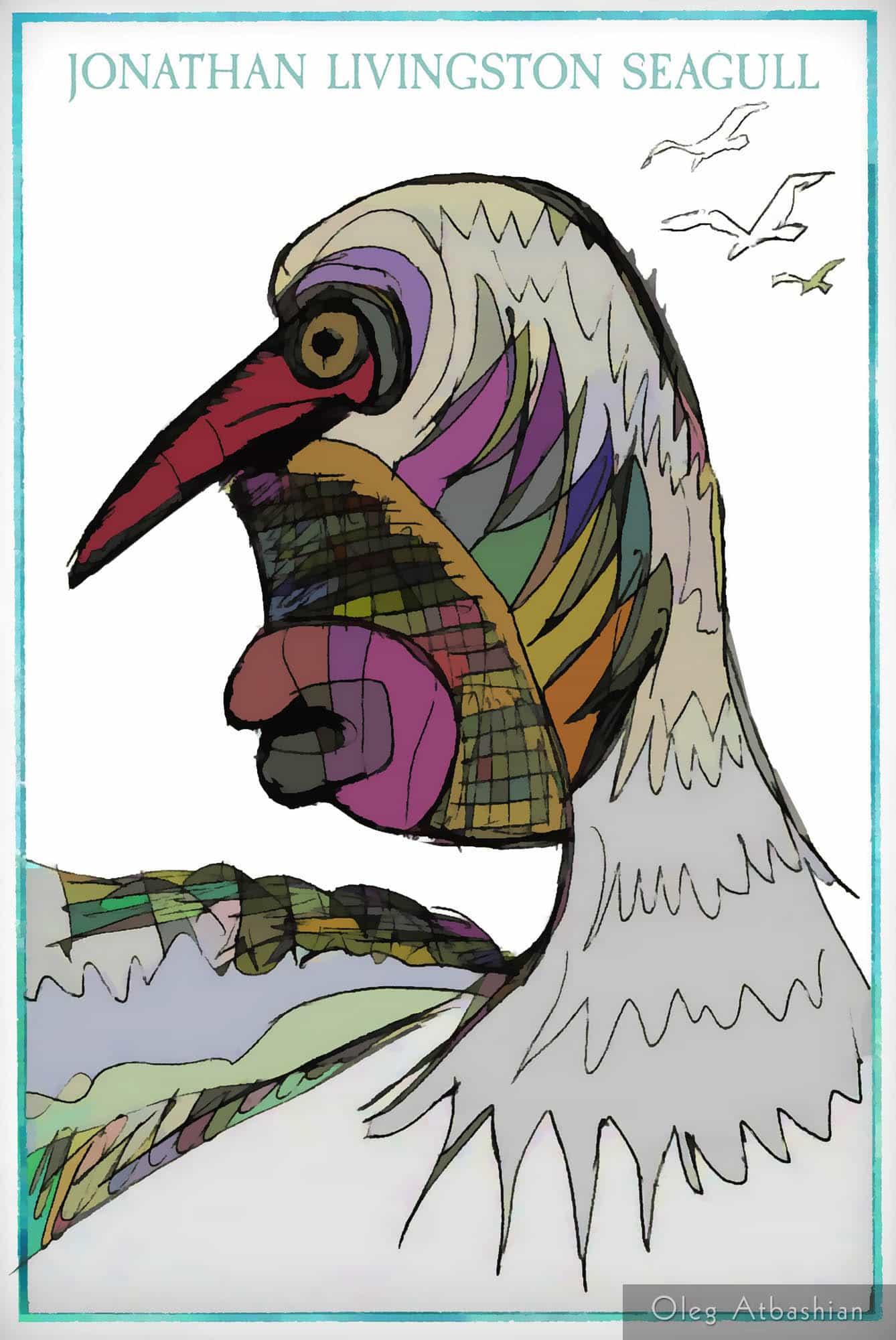 Cartoon: Jonathan Livingston Seagull