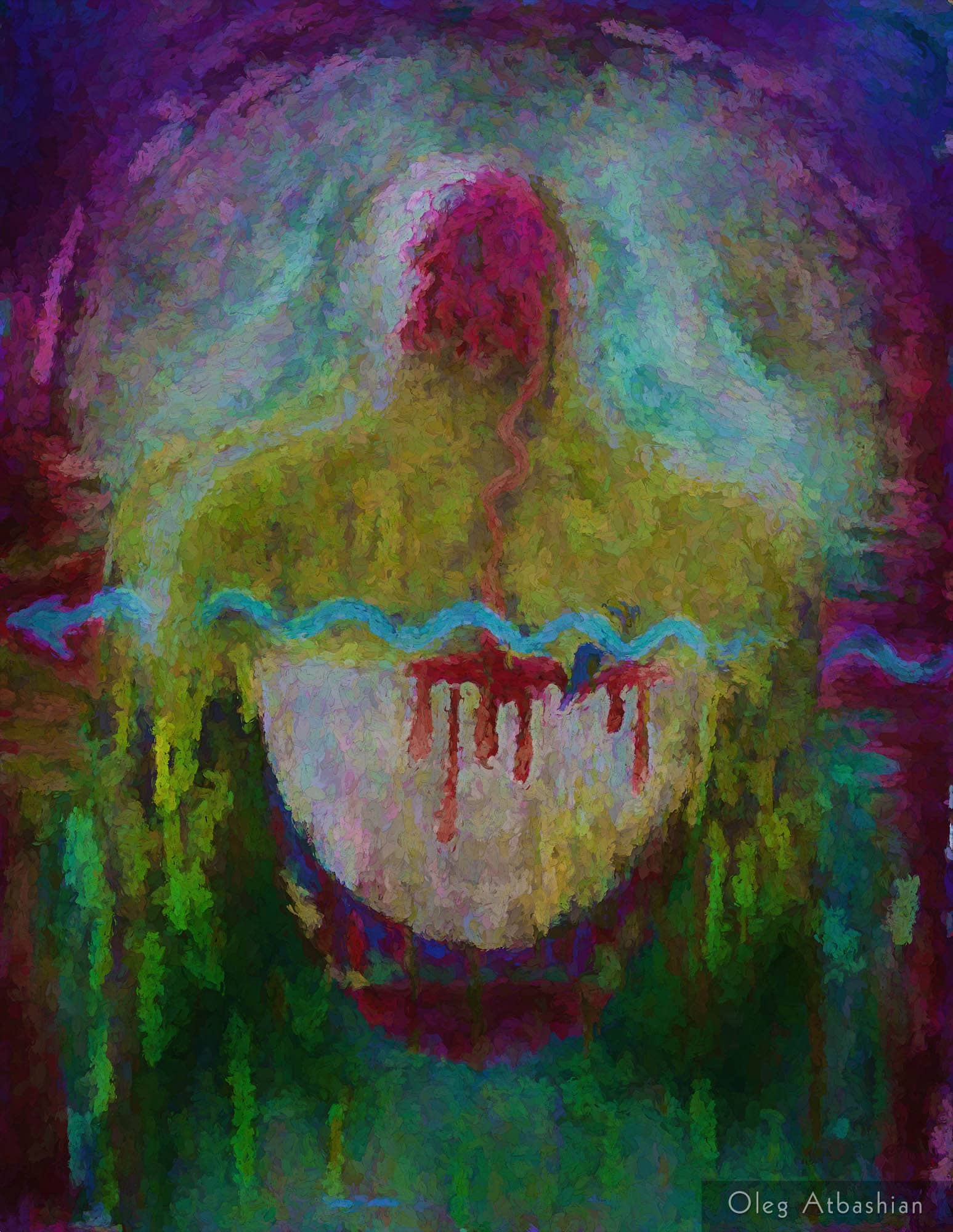 Splinter in the Heart, Painting