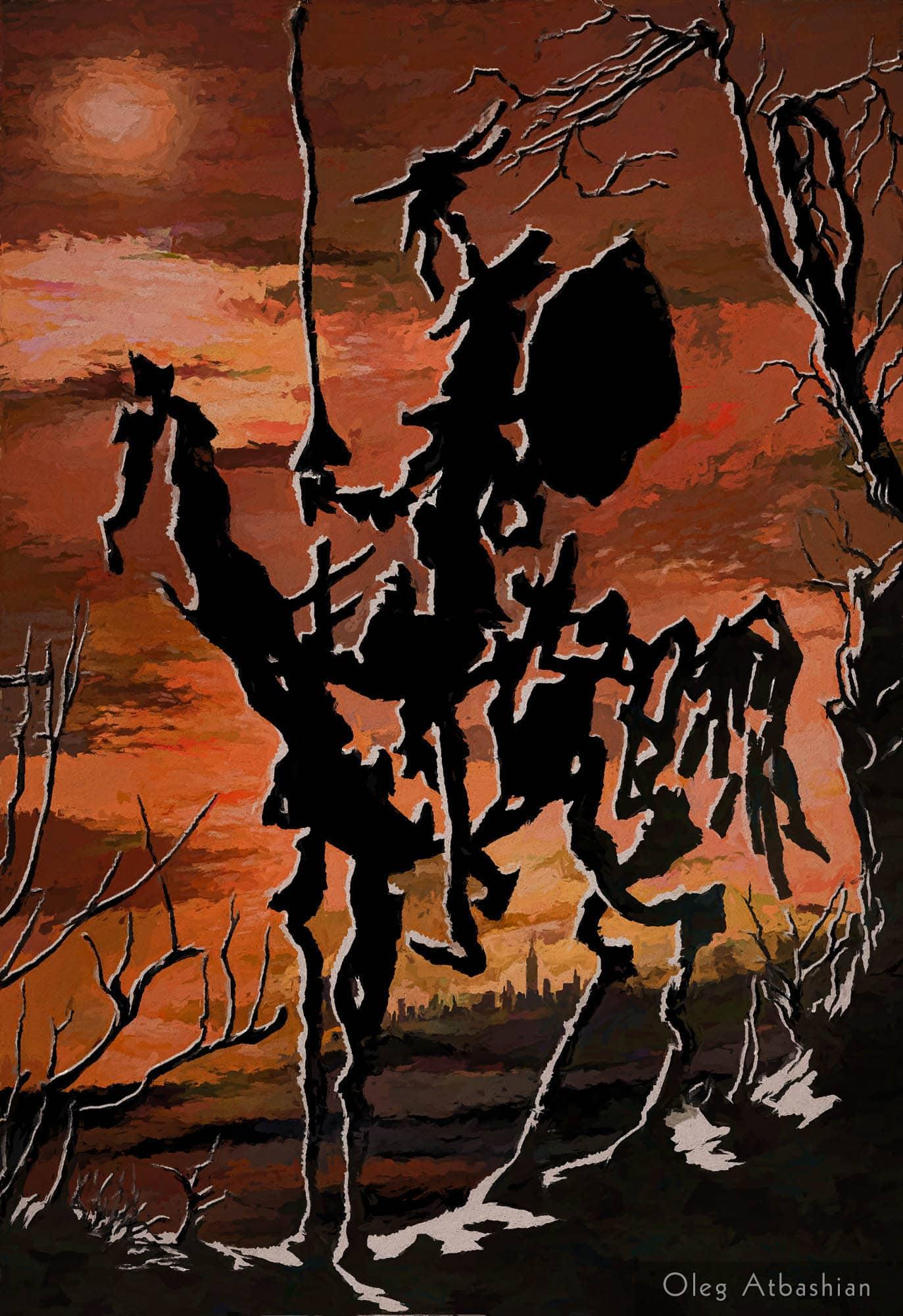 Picasso's Don Quixote in 3D