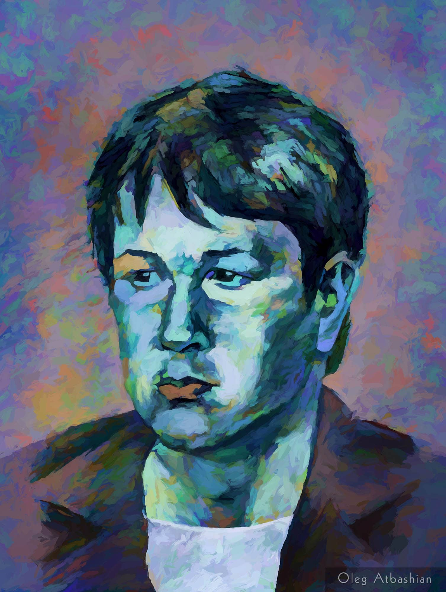 Portrait of Blue Boy