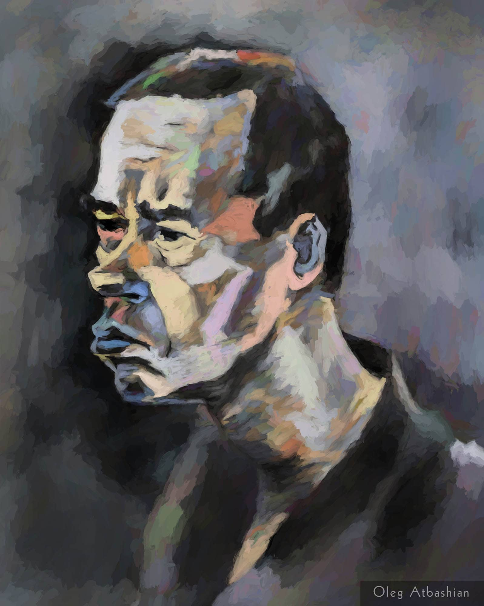 Portrait of Depression