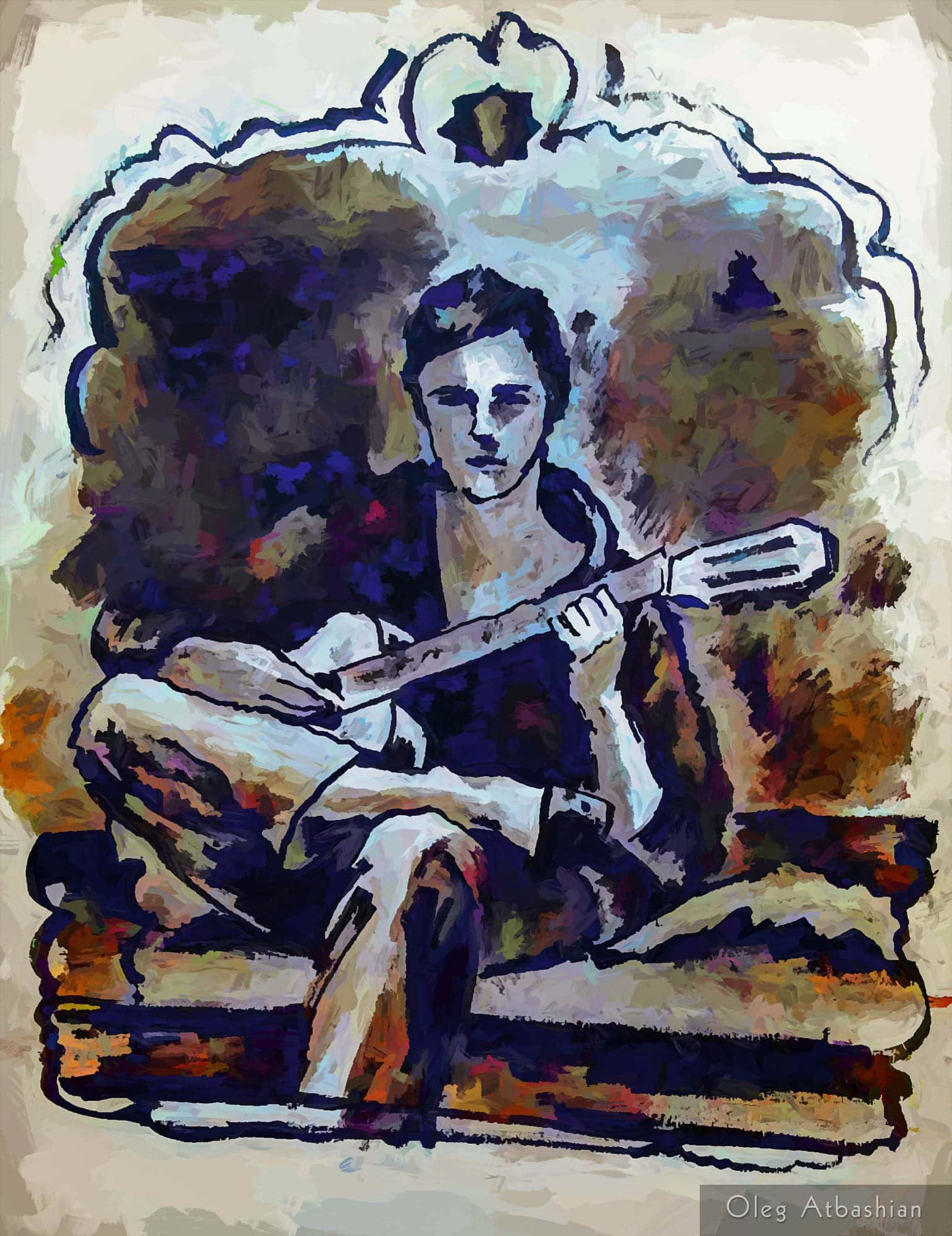 Guitarist on the Couch