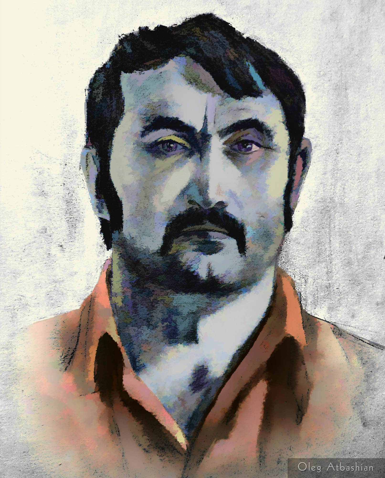 Chechen Magomed, Sketch