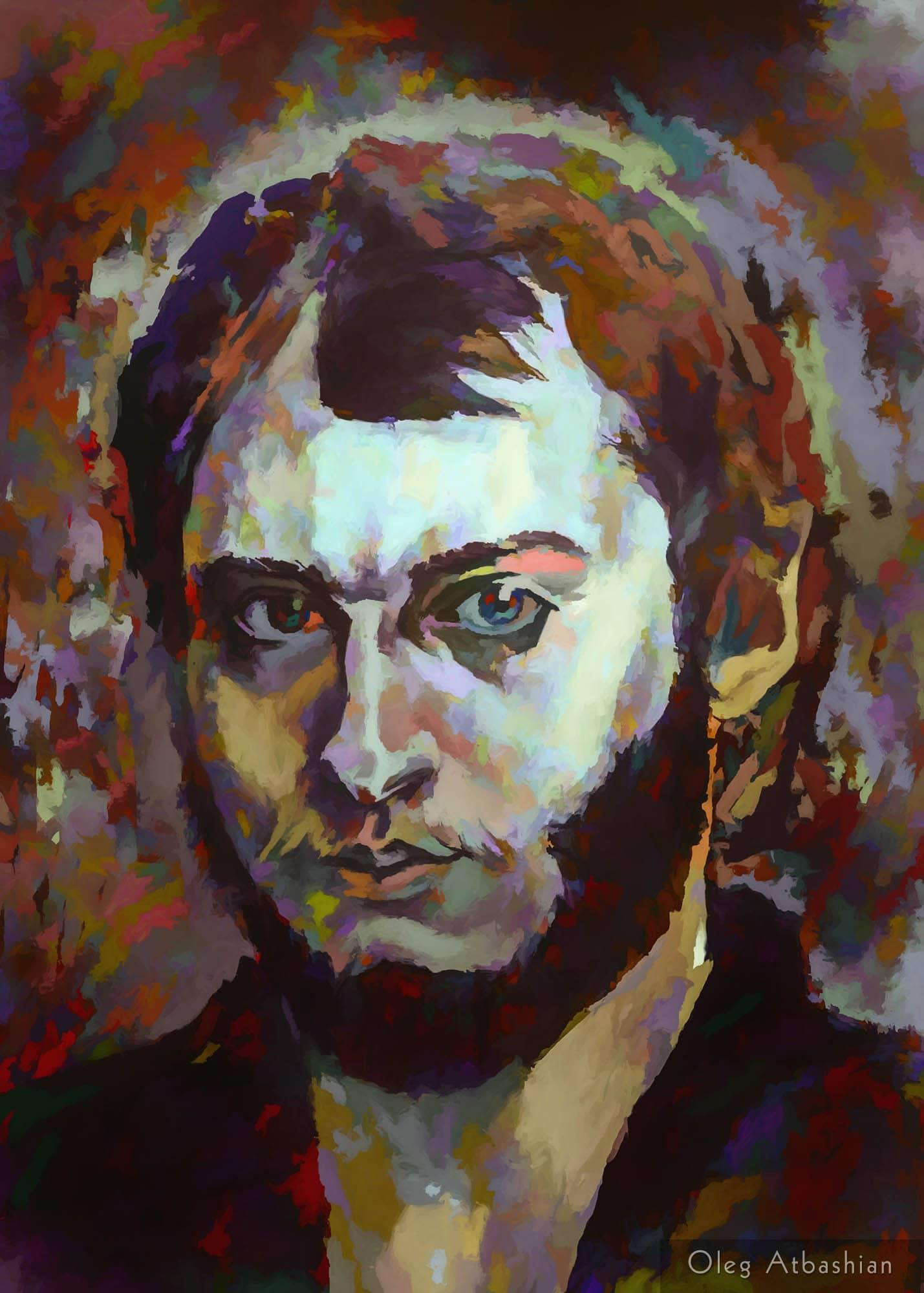 Self Portrait with a Beard
