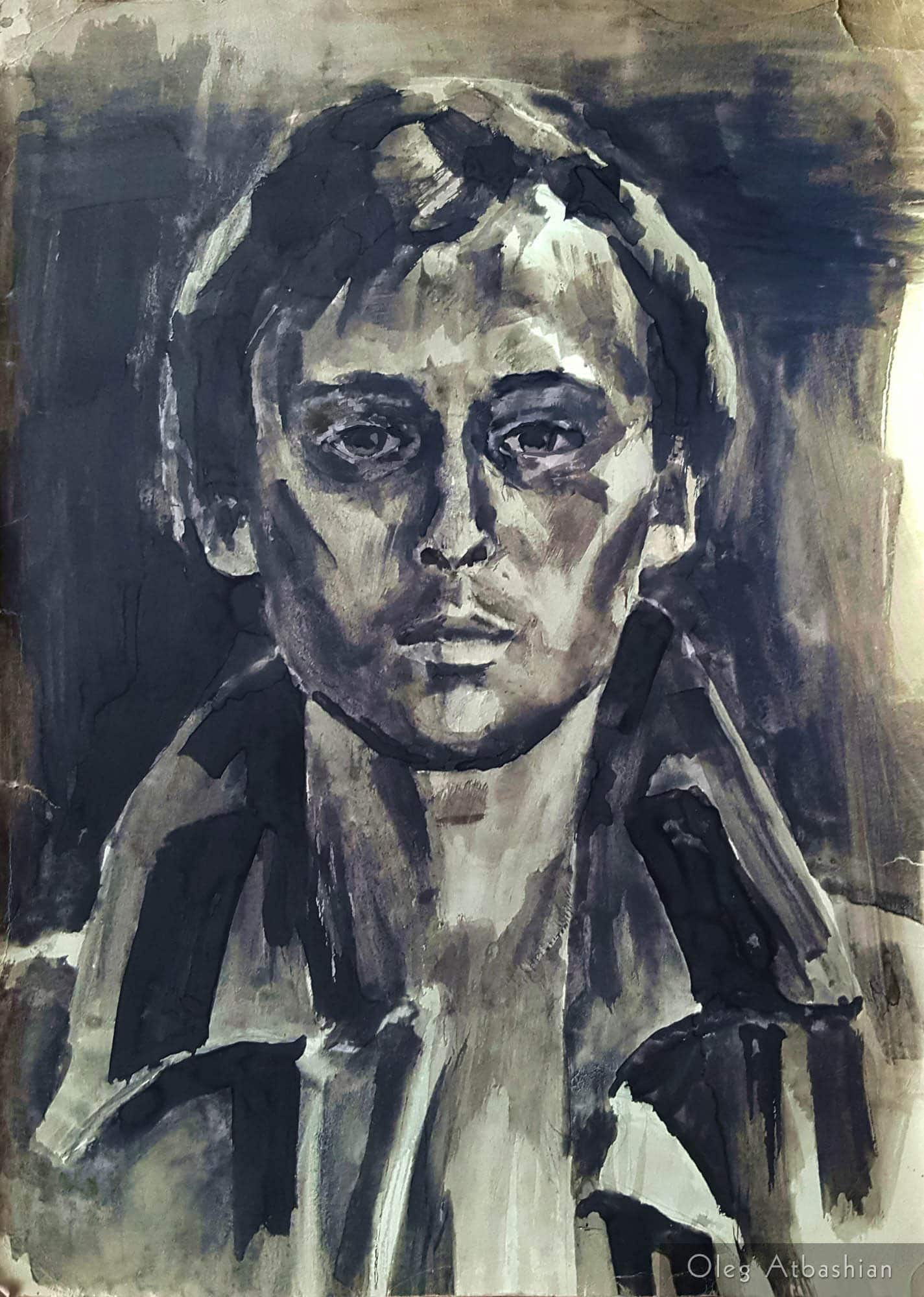 Self Portrait as a Conscript into the Soviet Army