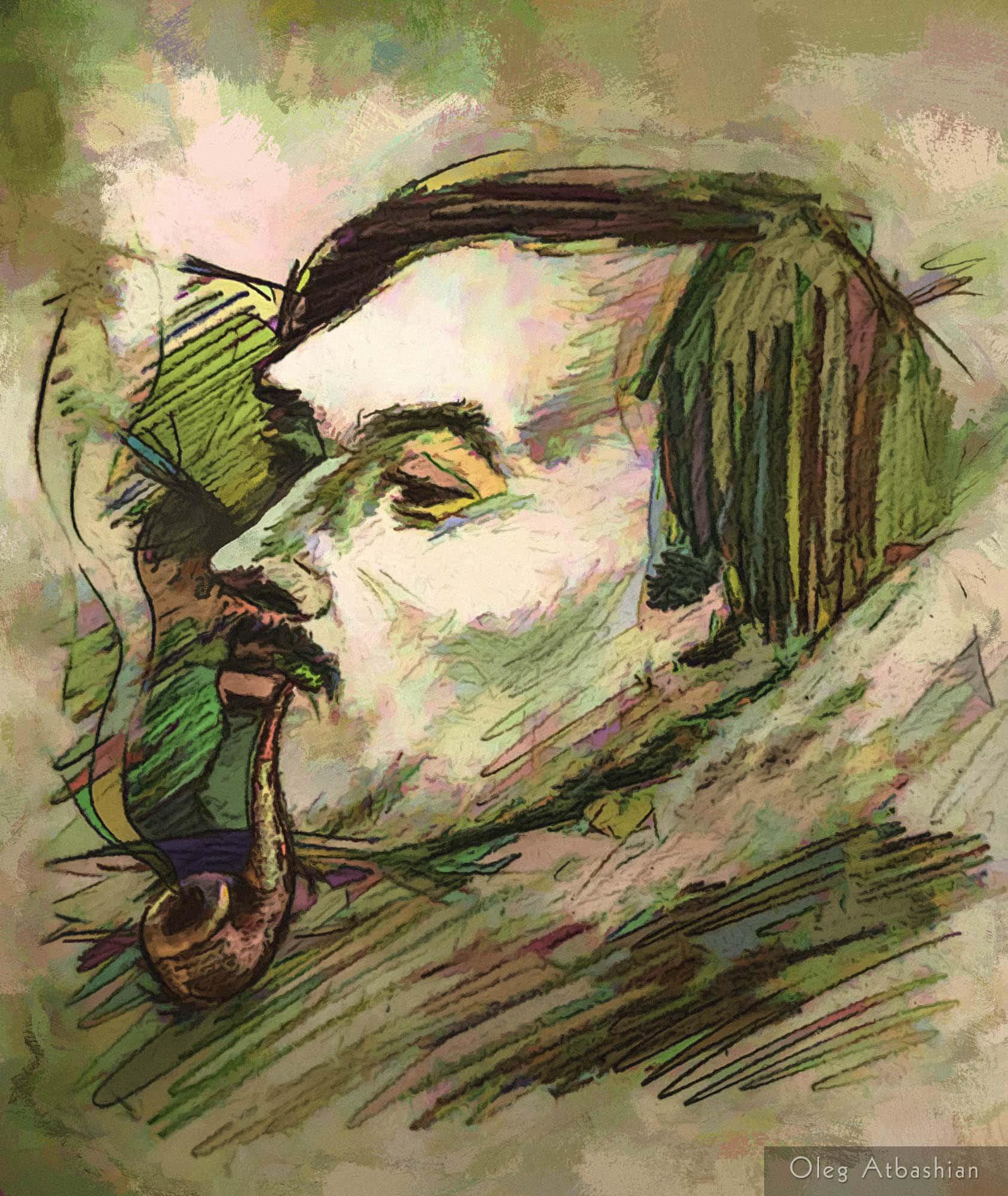 Taras Shevchenko Lookalike
