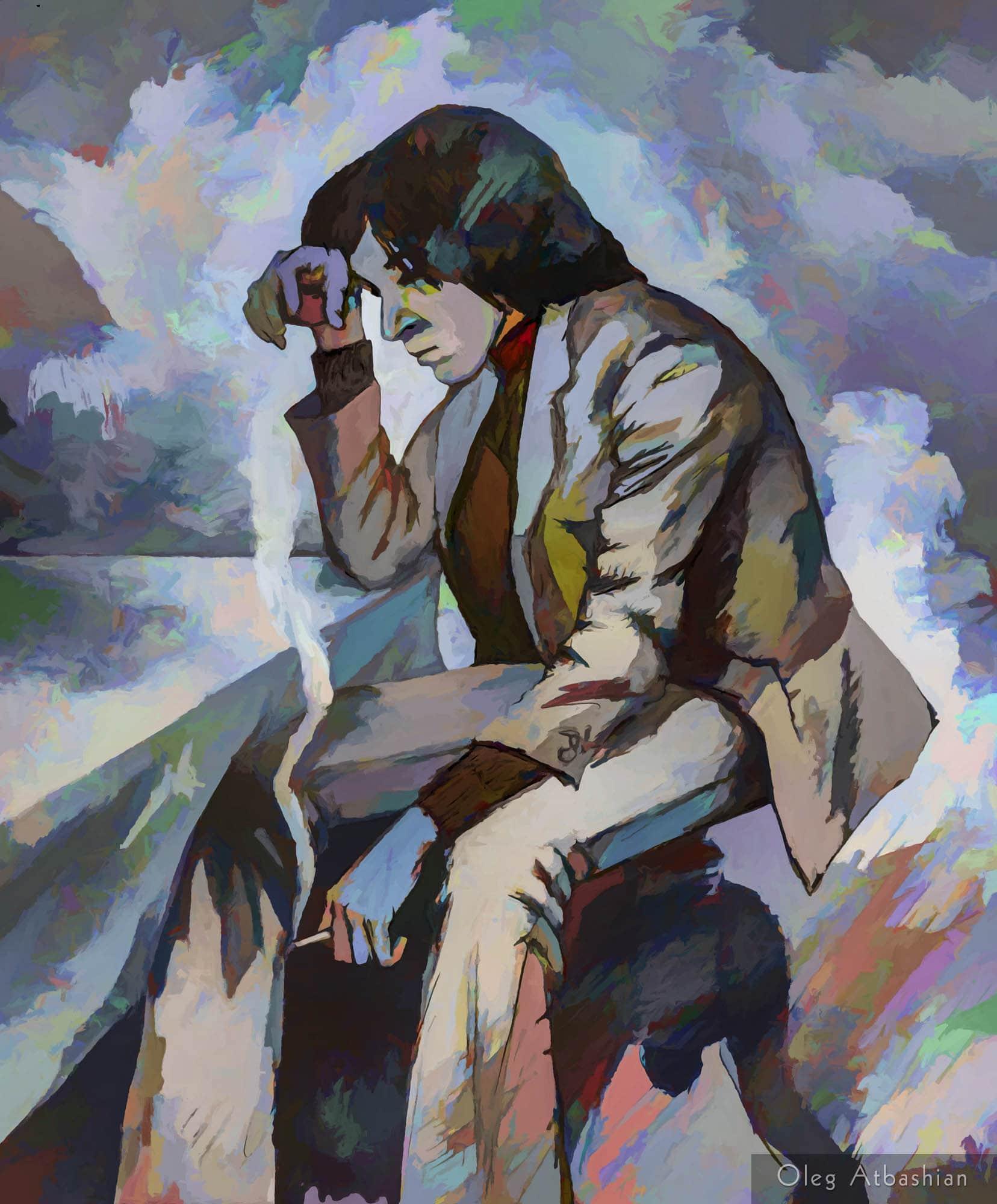 Portrait: Zubov the Thinker