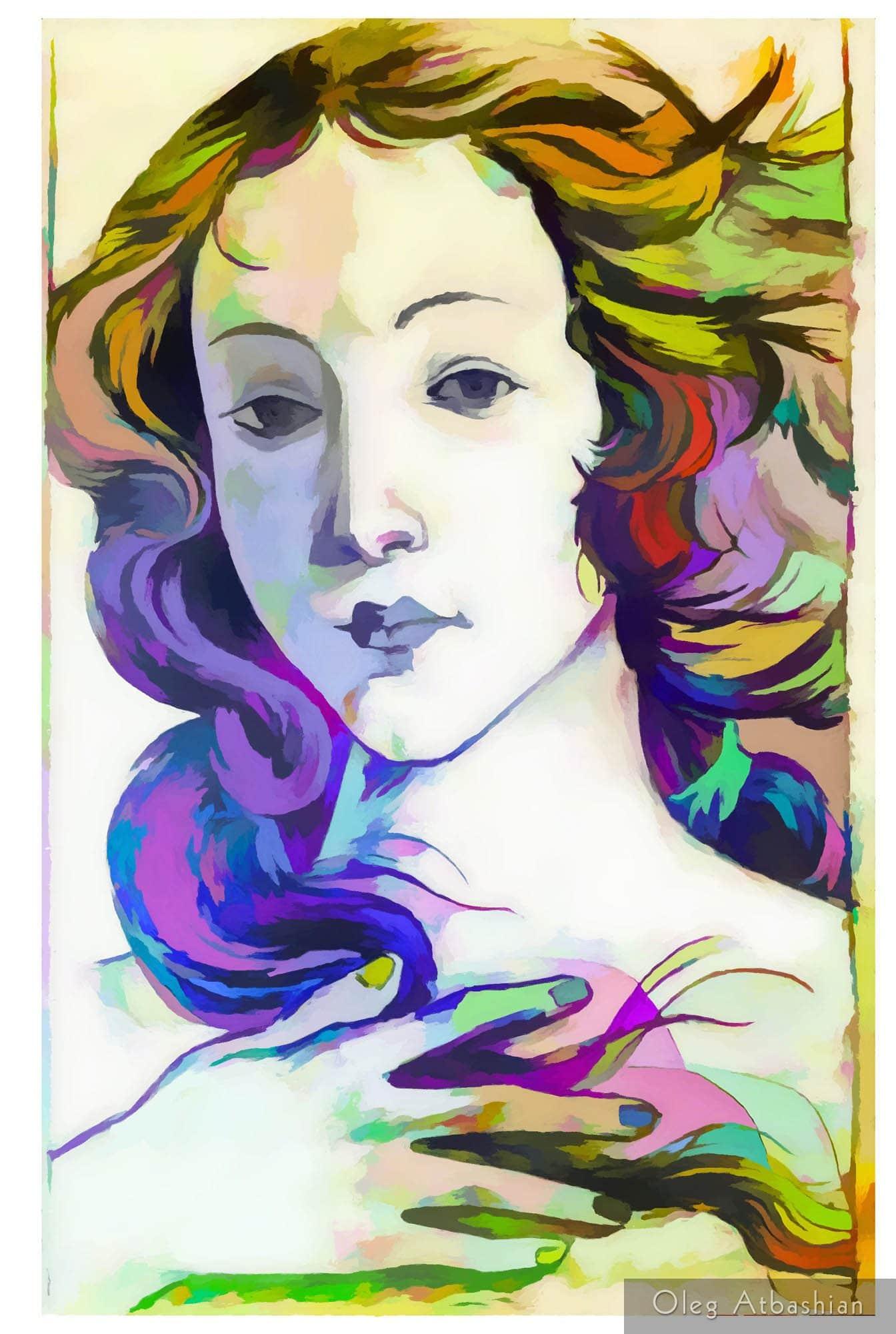 Love (after Botticelli's Venus)