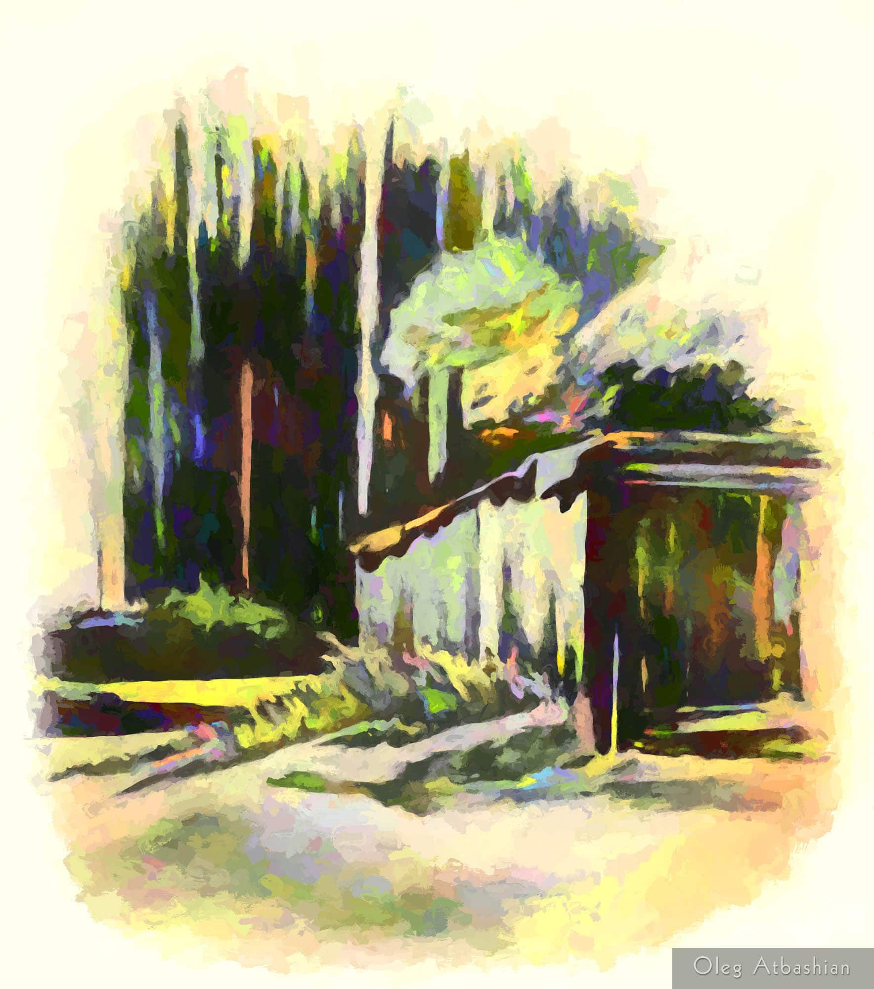 Sketch of a Shed