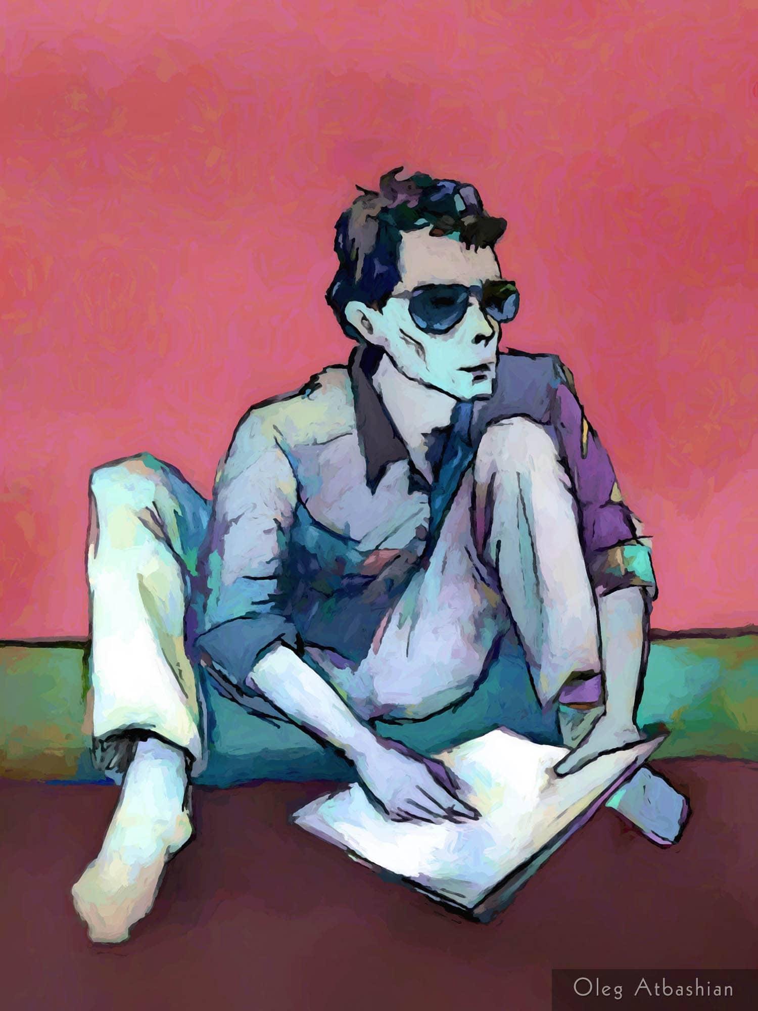 Sketch - Valera the Artist, Red