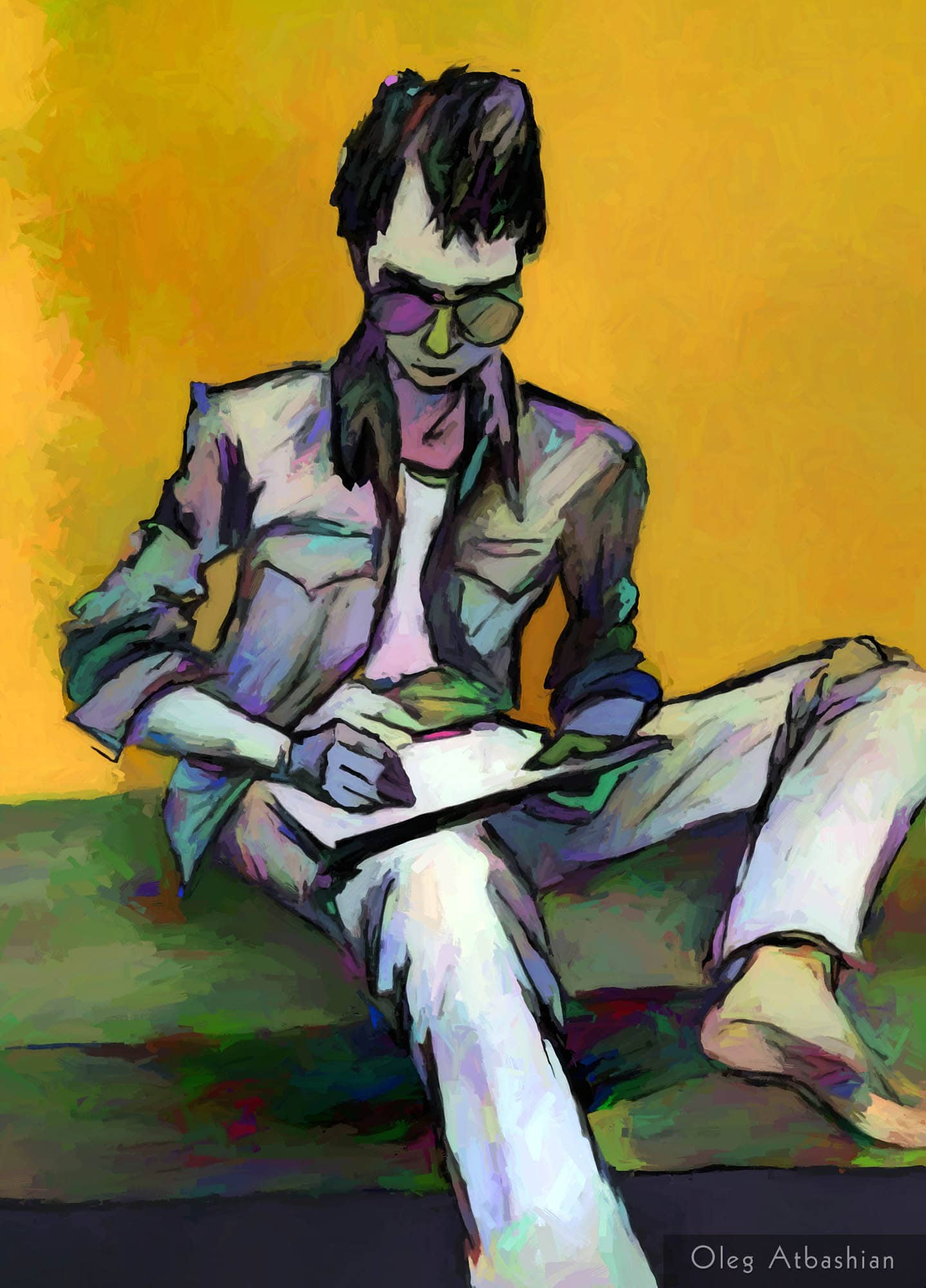 Sketch - Valera the Artist