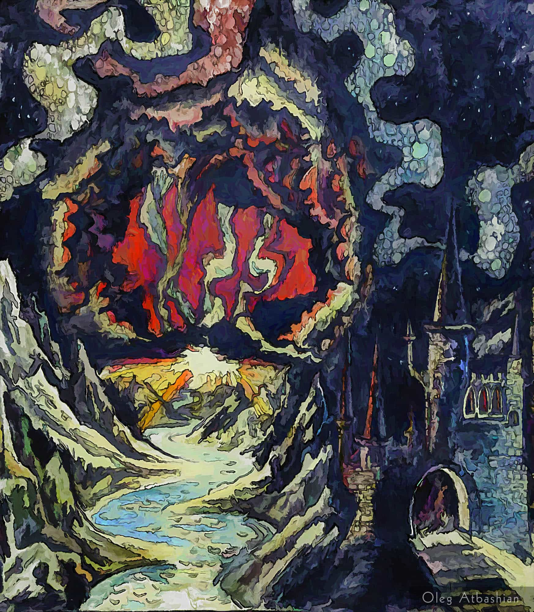 Surreal Magic Castle